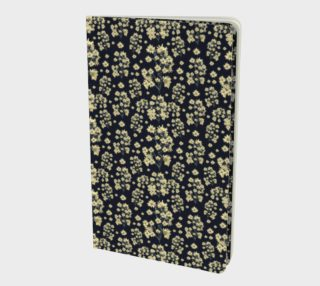 Sunflowers Floral Print Pattern Notebook preview