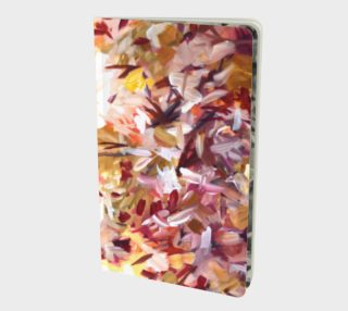 Pink floral notebook preview