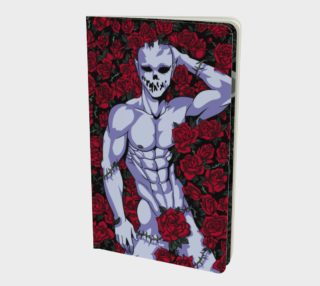 Demon with roses preview