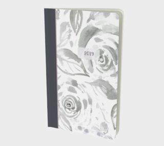 Aperçu de 2019 Gray Rose Journal Small