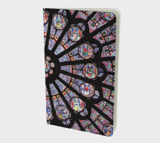 Rose South Window, Notre Dame Paris Small Notebook preview