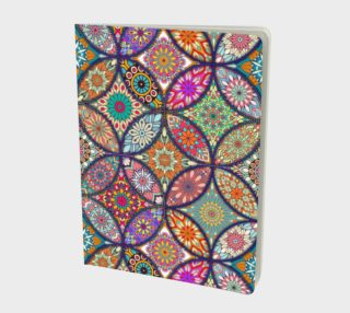 Vibrant Mandalas Large Notebook preview