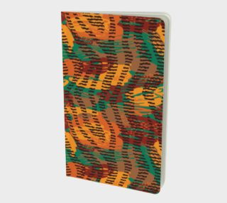 Abstract Animal Stripes Small Notebook preview