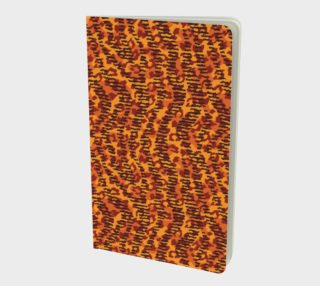 Animal Stripes and Spots Small Notebook preview
