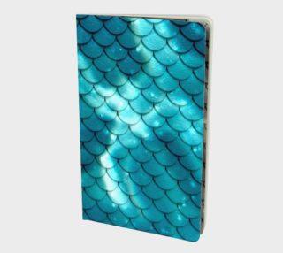 Mermaid Scales Aquatic Blue preview