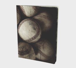 Grungy Baseballs on a Shelf preview