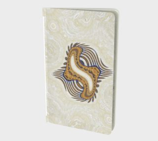 (SMALL) Yoga Woman Victory Symbol Notebook (48-pgs. blank) preview