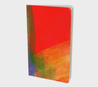 Folie abstraite carré-rouge 2 preview