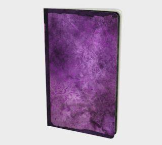 Floral Purple Hombre Notebook preview