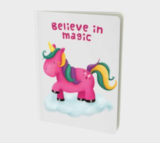 Pink Unicorn Notebook preview