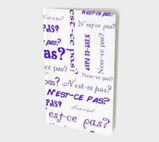 Aperçu de Purple N'est-ce Pas Small Notebook