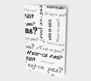 N'est-ce Pas Small Notebook preview