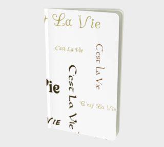 Aperçu de C'est la Vie Small Notebook