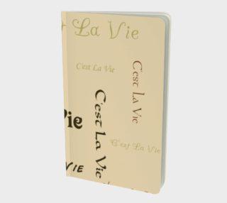 Coffee C'est la Vie Small Notebook preview