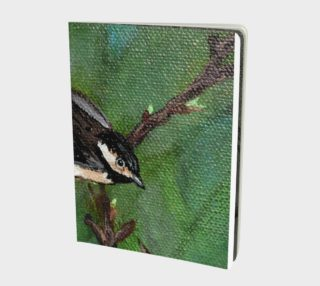 Chickadee Bird 2 Notebook preview