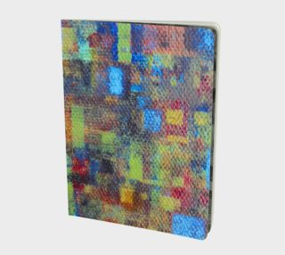 Fall Mosaic Notebook preview