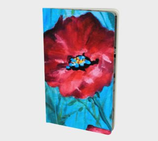 Linda's Poppies Notebook preview