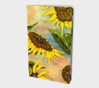 Aperçu de Sunflowers Notebook
