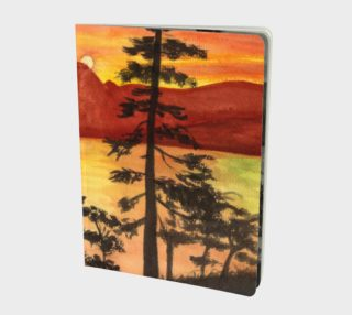 Sunset Large Notebook preview