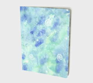 Blue lagoon Large Notebook preview
