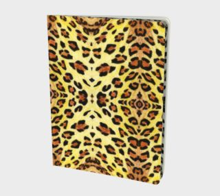 Leopard fur Large Notebook preview