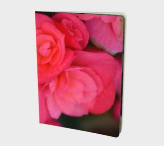 Fall Rose Notebook preview