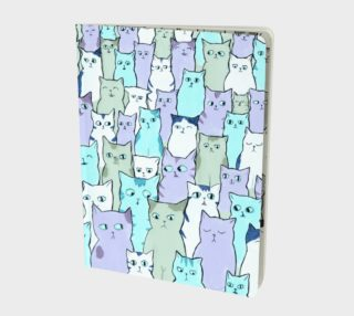 Many cats notebook preview