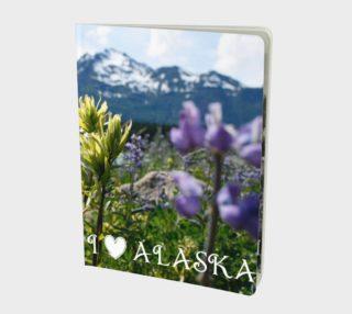 I Love Alaska Notebook Large preview