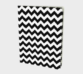 Black and white Chevron pattern preview