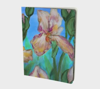 Variegated Irises Notebook L preview