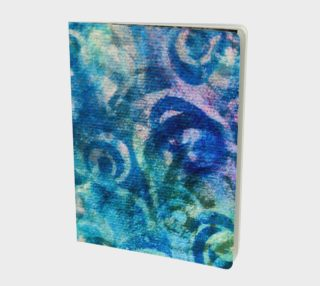Blue Swirl Notebook L preview