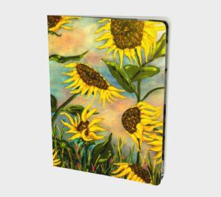 Aperçu de Sunflowers Notebook L
