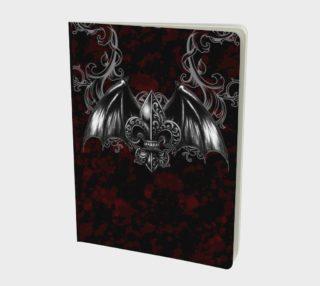 Vampire Crest Poetry Journal by Tabz Jones preview