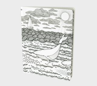Ocean notebook large preview