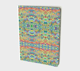 Abstract Hills Pattern Note Book preview