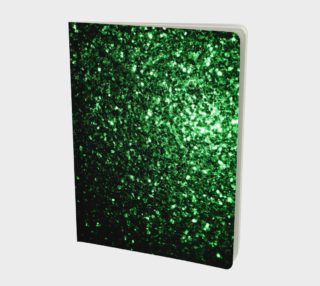 Beautiful Glamour Dark Green glitter sparkles preview