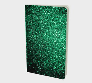 Beautiful Emerald Green glitter sparkles  preview