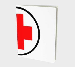 Red Cross Notebook preview