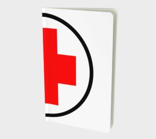 Red Cross Notebook - Small preview