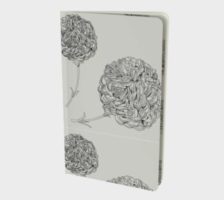 Carnation notebook - cream preview