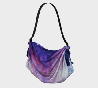 Blue and pink fireworks Origami Tote preview