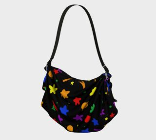 rainbow stars and planet bag preview