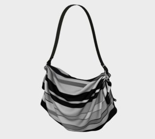Ombre Stripes in Black, White and Gray preview