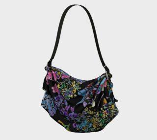 Aperçu de Black Floral Bag