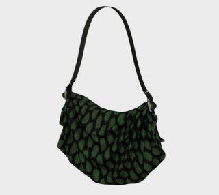Aperçu de Green Fern Leaves on Black
