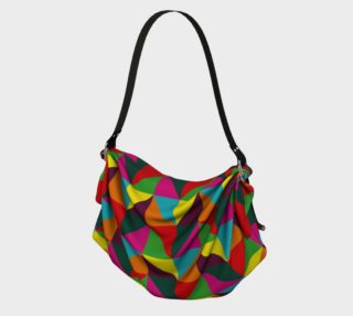 Colorful Geometric Origami Tote preview