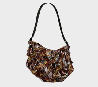 Colorful Wavy Abstract Pattern Bag preview