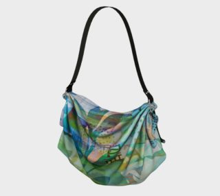 Graceful Sappling Origami Tote by Deloresart preview