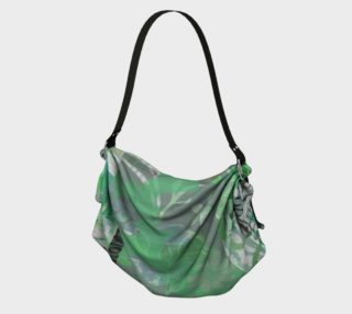 Flourish Soft Greens Origami Tote by Deloresart preview