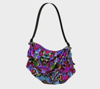 Multicolored Abstract Collage Pattern Bag preview